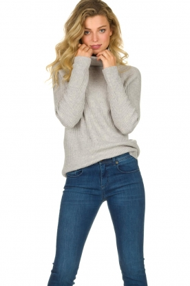 Blaumax | Knitted sweater Lena | grey