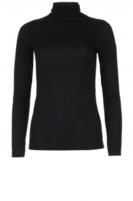Blaumax |  Turtleneck top Antonia | black