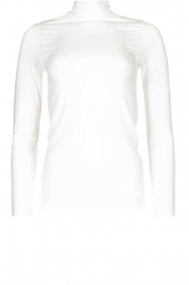 Blaumax | Top met col Antonia | wit