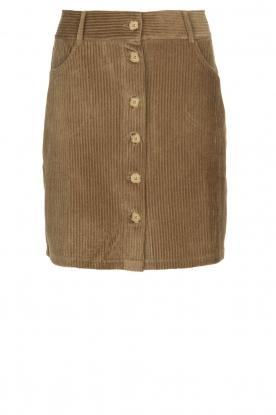 Blaumax |  Corduroy skirt Dina | beige