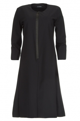 D-ETOILES CASIOPE |  Wrinkle-free stretch dress Soledad | black