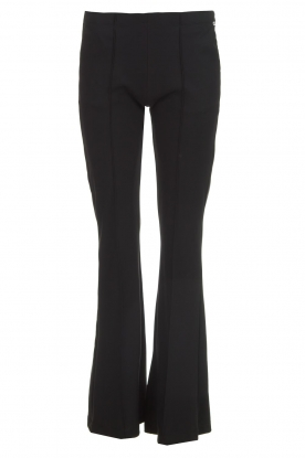 D-ETOILES CASIOPE |  Wrinkle-free stretch trousers Rodez | black