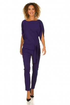 D-ETOILES CASIOPE | Jumpsuit Subliem | purple