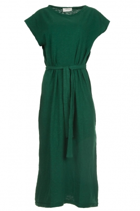 American Vintage |   Dress with matching belt Bysapick | green