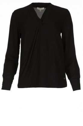 Kocca | Wrap Blouse Tica | black