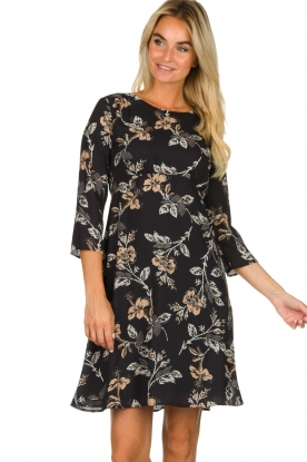 Kocca | Dress with print Fabius | black