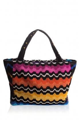 Reetsj |  Beachbag with zigzag pattern Cain