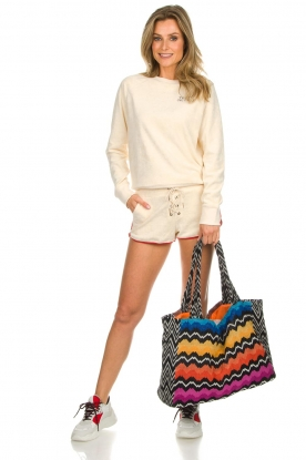Reetsj |  Beachbag with zigzag pattern Moana