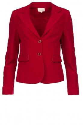 Kocca |  Classic blazer Jander | red