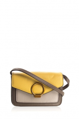 Smaak Amsterdam |  Mini shoulderbag Senn | yellow
