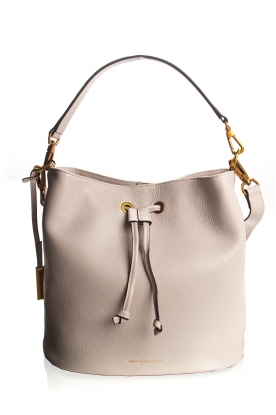 Smaak Amsterdam | Leren bucket bag Fred | naturel