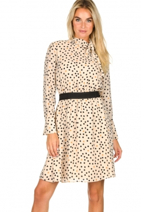 Kocca | Dress with dots Juice | natural