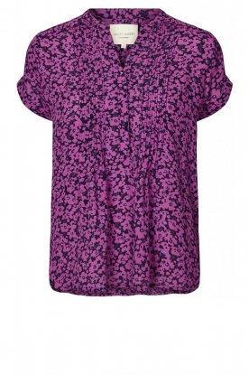 Lolly's Laundry |  Floral top Heather | purple