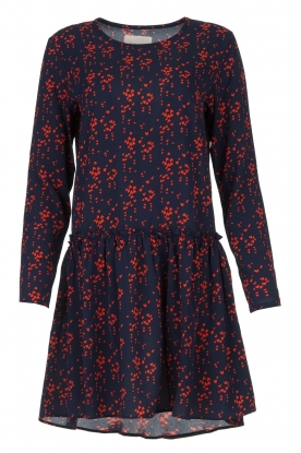 Lolly's Laundry    Printed dress Gili   blue