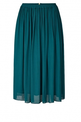 Lolly's Laundry |  Pleated midi skirt Pauline | green