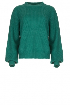 Lolly's Laundry | Knitted sweater Ameli | green