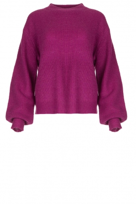 Lolly's Laundry | Knitted sweater Ameli | purple
