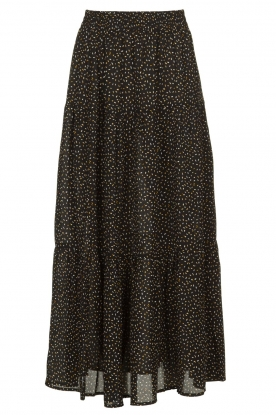 Lolly's Laundry | Skirt with dots Bonny | black