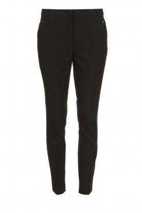 Aaiko |  Classic trousers Parien | black