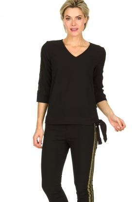 Aaiko | Top Mardia | black