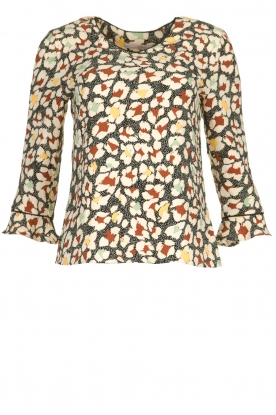 Aaiko |  Blouse with print Mardez | multi