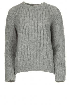 Aaiko | Knitted sweater Trilly | grey