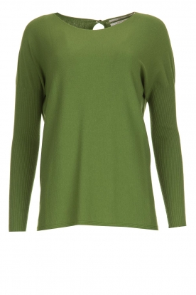Aaiko |  Lightweight sweater Milan | green