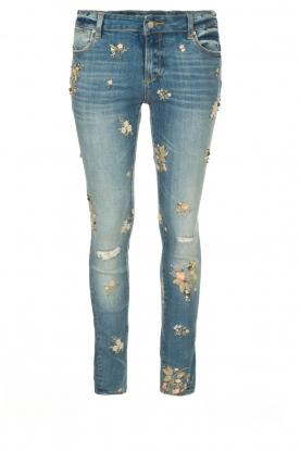 Fracomina | Skinny jeans Babette | blue