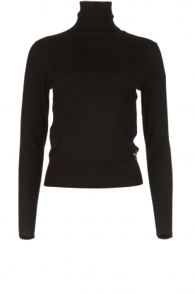 Fracomina | Turtle neck Pascal | black
