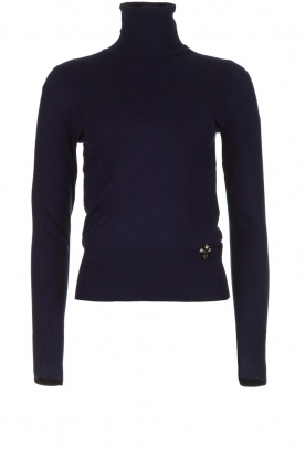 Fracomina | Turtle neck Pascal | blue