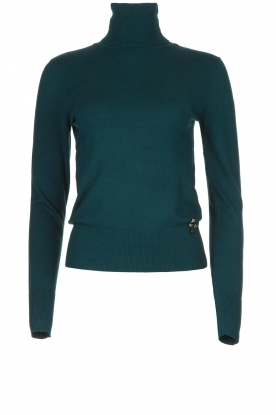Fracomina | Turtle neck Pascal | green