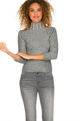 Fracomina |  Sweater Kirsty | grey
