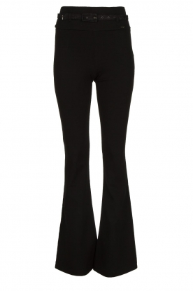 Fracomina | Flared pants Madeleine | black