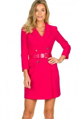 ELISABETTA FRANCHI    Blazer dress Sonia   pink