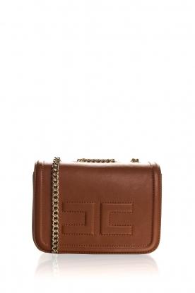 ELISABETTA FRANCHI   Faux leather handbag Riana   camel