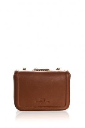 ELISABETTA FRANCHI | Faux leather handbag Riana | camel