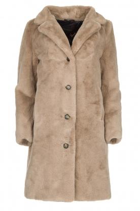 OAKWOOD |  Faux fur coat Cyber | grey
