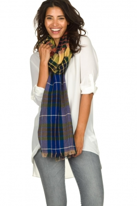 Moment by Moment |  Checkered scarf Ricky | multi