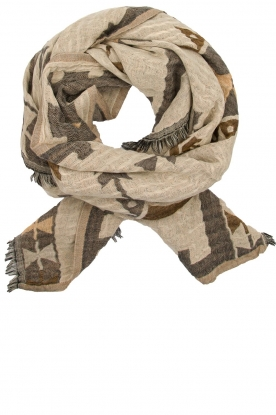 Moment by Moment | Scarf Mandy | grey