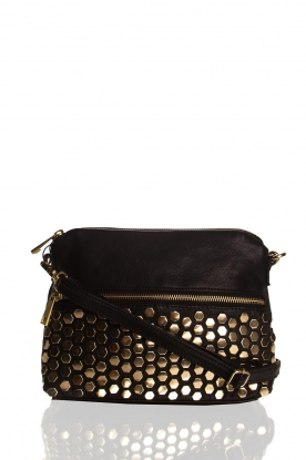 Depeche | Leather bag Tamara | black