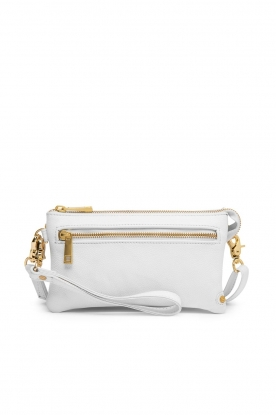 Depeche | Leather shoulder bag Karin | white