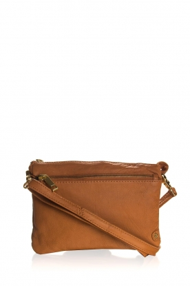 Depeche |  Leather shoulder bag Belina | camel