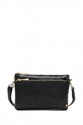 Depeche | Leather shoulder bag Belinda | black