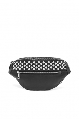 Depeche | Leather fanny pack Rosanna | black