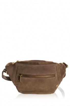Depeche | Suede shoulder bag Noor | natural