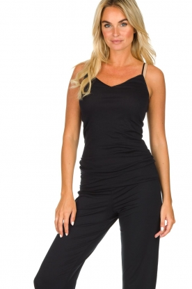 Hanro | Seamless top Hanna | black