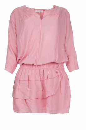 Les Favorites |  Dress with ruffle skirt Flori | pink
