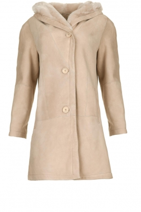 STUDIO AR BY ARMA |  Lammy coat Babina | beige