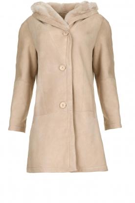 STUDIO AR BY ARMA | Lammy coat Babina | beige