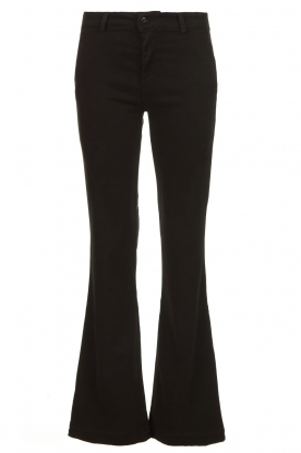 Lois Jeans |  Stretchy trousers Beruska L34 | black